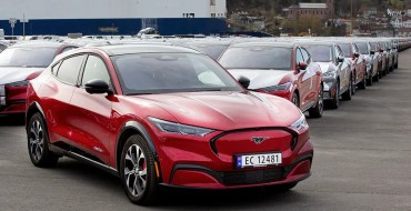 First Ford Mustang Mach-E Shipment Hits Norway