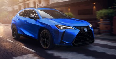 Limited Edition Lexus UX 250h Black Line Comes to Canada