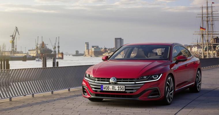 2021 Volkswagen Arteon is an IIHS TOP SAFETY PICK