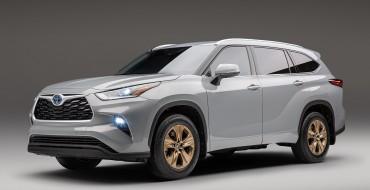 [Photos] 2022 Toyota Highlander Goes Bronze