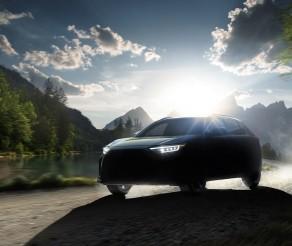 Subaru Provides Sneak Peek of Its All-Electric Solterra SUV