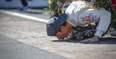 Hélio Castroneves Wins Fourth Indy 500