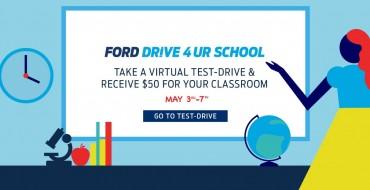 Ford Drive 4 UR School Donating $1M Via Virtual Test Drives
