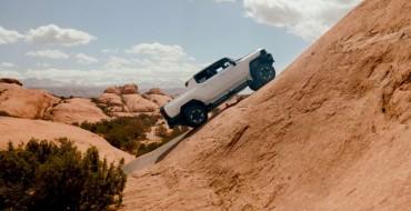 GMC Hummer EV Undergoes Testing on Moab Trails