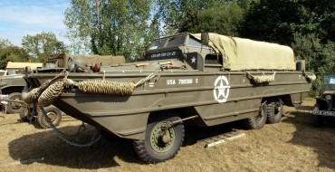 """A Brief History of the GMC DUKW """"Duck"""" Military Vehicle"""