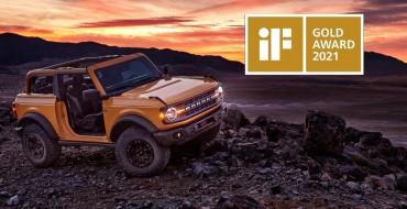 Hey, Good Lookin': 2021 Ford Bronco Wins iF Design Gold Award