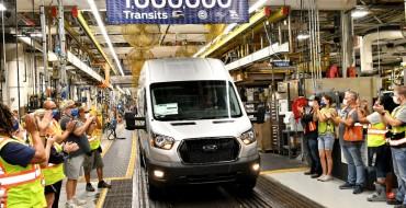 Kansas City Assembly Plant Builds 1 Millionth Transit Van