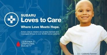 Subaru Dedicates Month of June to Those Battling Cancer