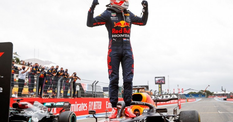 Max Verstappen Storms to Electric French Grand Prix Win