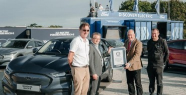Ford Mustang Mach-E Sets Guinness World Record for Energy Use