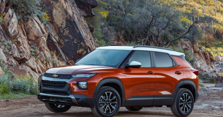 IIHS Rates 2022 Chevy Trailblazer a Top Safety Pick+