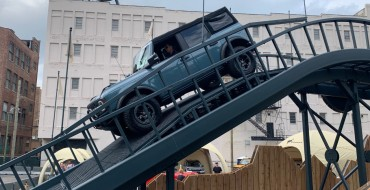 Ford Demoing Bronco at Chicago Auto Show with Built Wild Experience