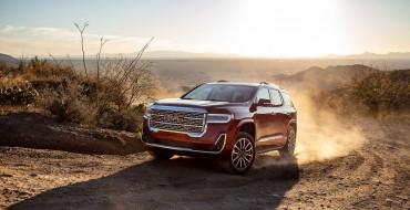 GMC Acadia, Yukon Make US News' 2021 List of Reliable SUVs