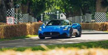 Maserati MC20 Debuts at Goodwood Festival of Speed