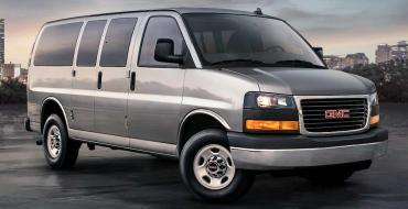 2021 GMC Savana Passenger Van Overview