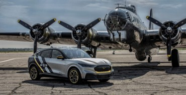 Ford Made Mustang Mach-E Inspired by Women Pilots for EAA AirVenture