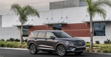 Hyundai Santa Fe Scores IIHS Top Safety Pick+ Award