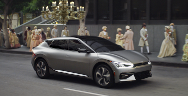 Kia Showcases All-Electric EV6 During 73rd Emmy's Broadcast