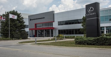 Toyota Canada Gets Another Plant Quality Award