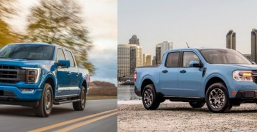 Ford F-150, Maverick Up for 2022 Green Truck of the Year