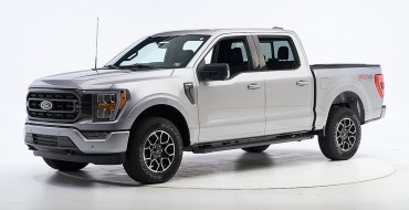 2021 Ford F-150 Tows in IIHS Top Safety Pick