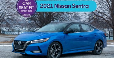 Nissan Sentra Makes 2021 Honor Roll for Car Seat Fit