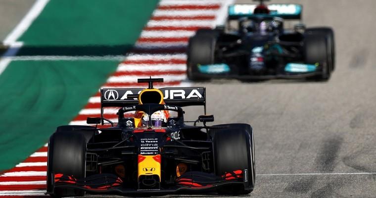 Verstappen and Hamilton Dominate 2021 United States Grand Prix