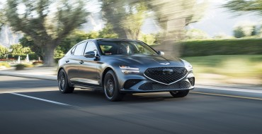Entire 2022 Genesis Lineup Wins IIHS Top Safety Pick+ Awards
