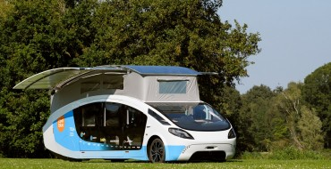 Solar-Powered RV Travels from Netherlands to Spain