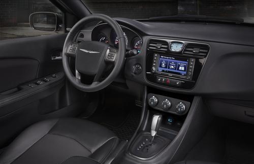 Redesigned 2014 Chrysler 200 interior