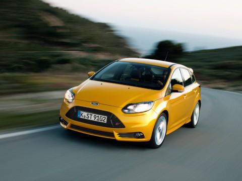 Yellow Focus ST