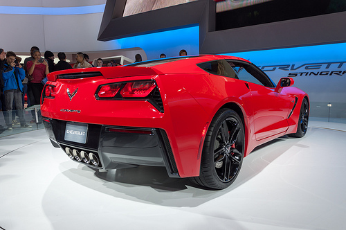 Details of 2014 Corvette Stingray