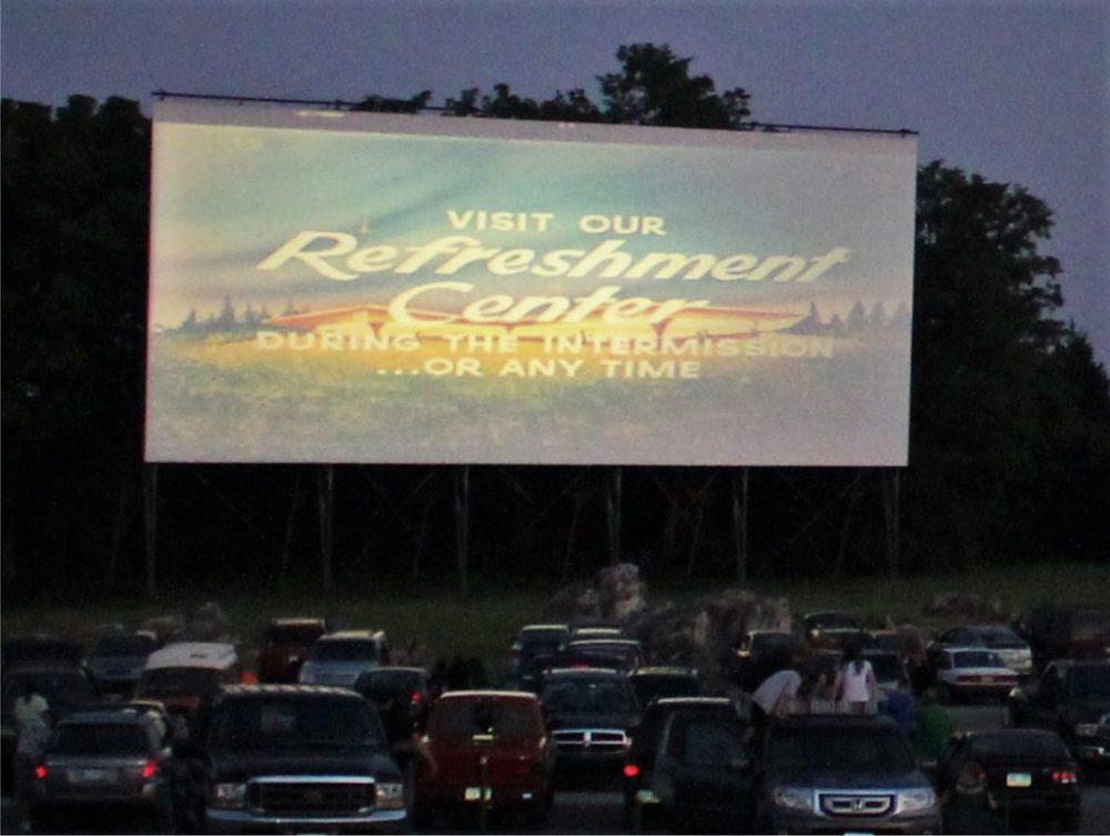 drive-in movie theater cars local venue