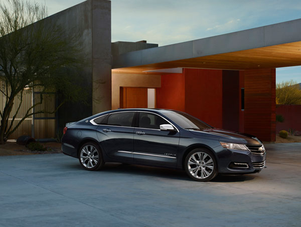 Chevy Impala Earns Highest Possible Safety Rating