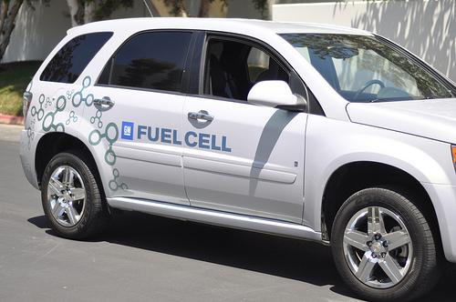 GM Fuel Cell Car