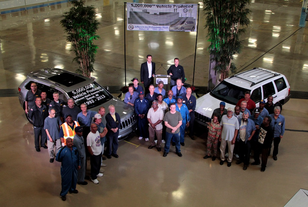 jeep's 5 millionth vehicle