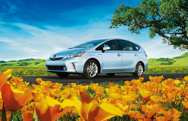 Toyota's Future Looks Green