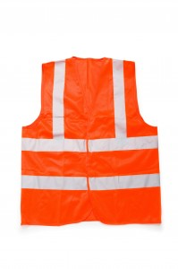 Walking safely at night sometimes requires reflective materials