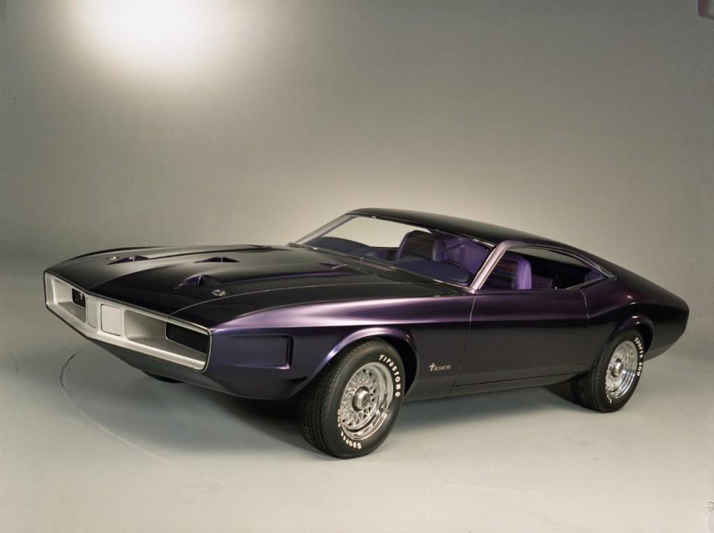 1970 Mustang Milano Concept Purple Haze From Pony Car Past