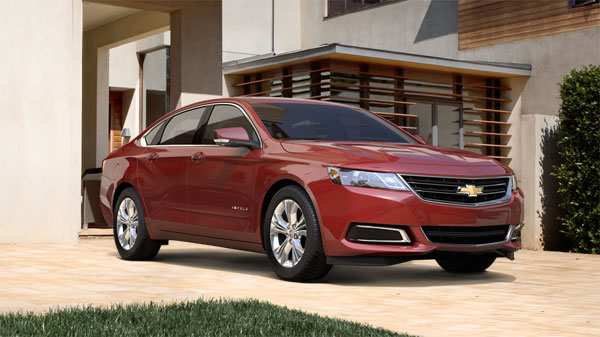 2014 Chevrolet-Impala is a Chevy 5-Star Vehicle