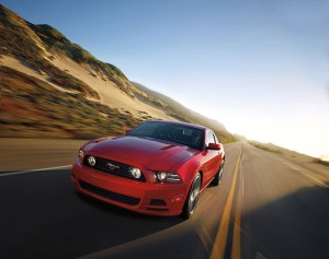 How do you think the 2015 Mustang will end up looking in comparison to this 2014 Mustang?