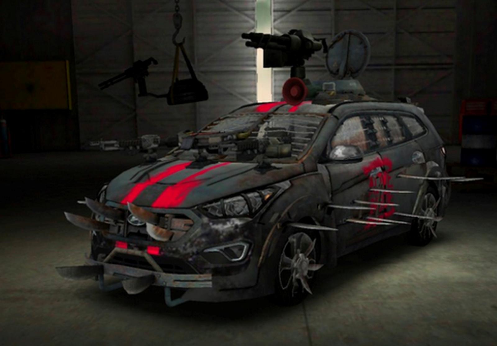 Santa-Fe-Zombie-Survival-Machine