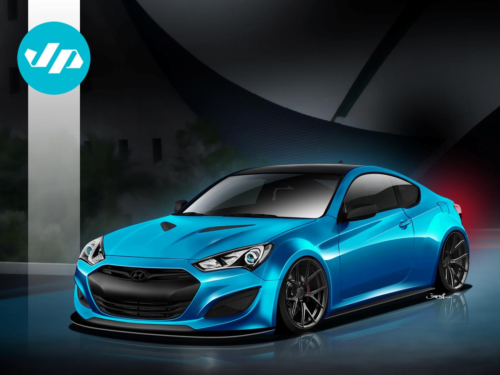 Hyundai JP Genesis Coupe