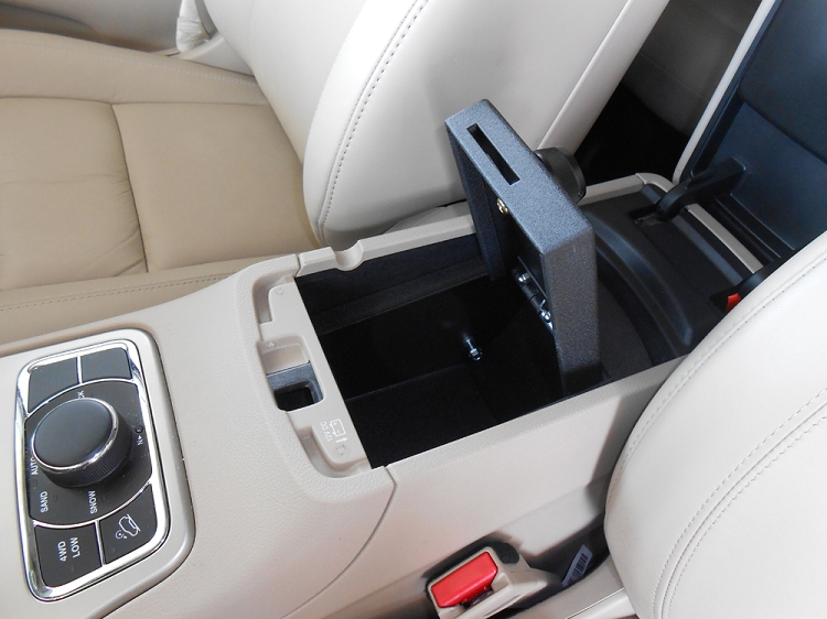 Jeep Grand Cherokee Console Safe Helps Prevent Car Theft
