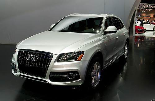 The Audi Q5 at the L.A. Auto Show