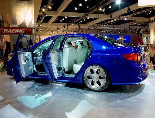 New Toyota Corolla at the L.A. Auto Show