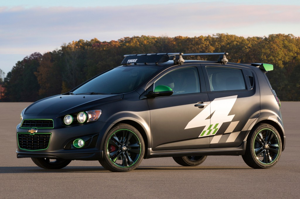 2013 Chevrolet Sonic All Activity