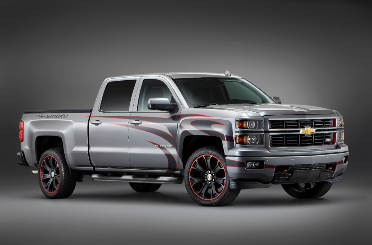 Truck chevy concept truck : 2013 SEMA: Chevy Truck Concept Photos | The News Wheel