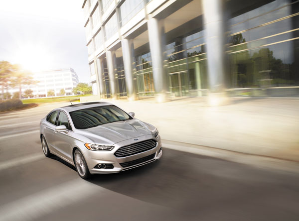 ford fusion history