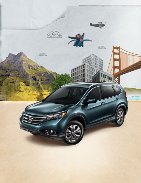 New CR-V Ad Campaign